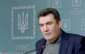 Kijevas: Ukraina nesiekia paaštrinti padėties Donbase