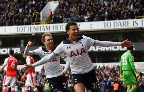 "Šiaurės Londono derbyje – ""Tottenham Hotspur"" triumfas"