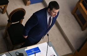 Atsistatydinantis J.Ratas: dabartinė Estijos valdančioji koalicija nebeišliks