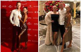 Sparčiai išpopuliarėjusį šokėjų duetą Ustin&Ieva sėkmė aplankė prabangiajame Monake