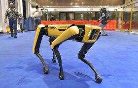 Niujorko policija atsisakė kontroversiško šuns roboto