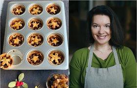R.Ničajienė kviečia skanauti šventinių Europos kepinių: pyragėlių su brandintų džiovintų vaisių įdaru receptas