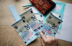Universali vaiko išmoka kitais metais kyla nuo 60 iki 70 eurų
