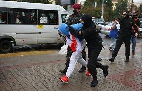 Baltarusijos valdžia ketina nubausti apie 100 rugsėjo 1-osios protestų dalyvių