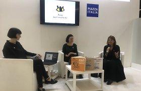 """Bolonijos knygų mugės vadovė apie vizualinį identitetą kūrusią lietuvę: """"Mes tiesiog sužavėti jos darbu"""""""