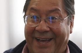 Bolivijos prezidentu išrinktas Luisas Arce, patvirtino rinkimų tribunolas