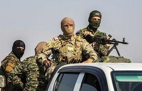 Sirijoje užklydę į minų lauką žuvo dvi dešimtys proturkiškų pajėgų narių