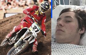 Po vos tragedija nesibaigusios avarijos A.Jasikonis vėl sėda ant motociklo: mano smegenims viskas nauja