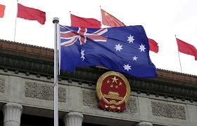 Kinija sustabdė ekonominį susitarimą su Australija