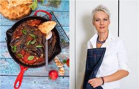 Nidos receptas: kaukazietiškas baklažanų ir pomidorų troškinys
