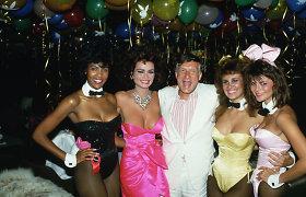 """Paskelbta oficiali """"Playboy"""" įkūrėjo Hugh Hefnerio mirties priežastis"""
