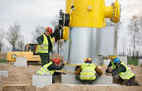 Pradedamas paskutinis sudėtingas dujų jungties su Lenkija statybų etapas