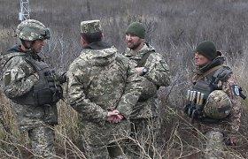 Kijevas: du žmonės žuvo ir du buvo sužeisti per naujus incidentus Rytų Ukrainoje
