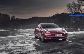 """""""Deals on Wheels"""". Ateitis jau čia: """"Tesla Model 3"""""""