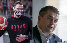 """Gandus apie """"Rytą"""" ir VTB lygą neigęs G.Žiemelis kirto D.Gudeliui: """"Su nevykėliais nebendrauju"""""""