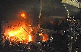 Beirute sprogus degalų cisternai ir kilus gaisrui žuvo keturi žmonės