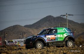 Antrasis Dakaro greičio ruožas nepagailėjo rūpesčių lietuvių ekipažams: svarbiausi dienos įvykiai