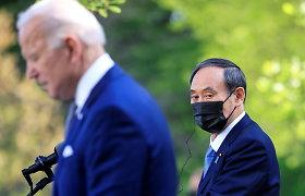 """Japonijos premjeras pasiryžęs surengti """"saugias"""" olimpines žaidynes"""