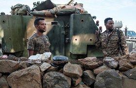 Etiopijoje smarkiai apšaudoma Tigrėjaus regiono sostinė