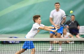 Patyrę sportininkai pasirinko trenerio kelią Vilniaus teniso akademijoje