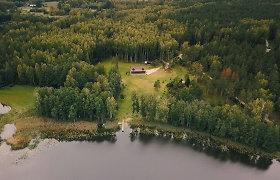 Gyventojai pasipiktino Seimo nario R.Martinėlio veiksmais: iškirto medžius, mišką apsijuosė tvora