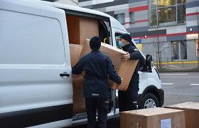 Į Kroatiją išgabenta tarptautinės pagalbos siunta
