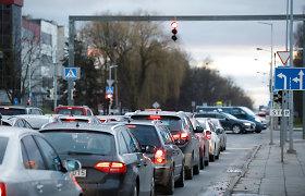 Kauno Europos prospekto atkarpoje – laikini eismo ribojimai: įsigalios vienpusis eismas