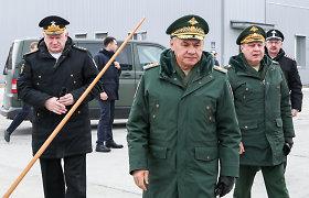 Kryme apsilankęs S.Šoigu: Rusijos kariai atitraukiami nuo pietinių sienų