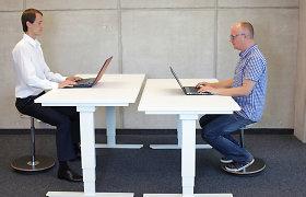 Kaip išsirinkti reguliuojamo aukščio darbo stalą?