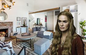 """Iš Holivudo išsikrausčiusi """"Sostų karų"""" žvaigždė Lena Headey parduoda savo namus: apžiūrėkite"""