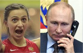 Rusai įtūžę: Tokijo olimpiadoje negalės naudoti šalies pavadinimo