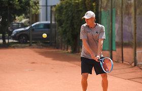 Čempionų lygos laimėtojas Edgaras Jankauskas pergales skina ir teniso mėgėjų aikštelėse