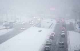 Paskaičiavo, ką reiškia skubėjimas žiemą: sutaupytos minutės gali labai brangiai kainuoti