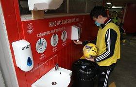 Bruzdesys Škotijoje: dviejų klubų žaidėjai grubiai pažeidė taisykles – atšauktos rungtynės