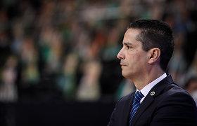 """Gynyba prieš """"Žalgirį"""" pasidžiaugęs """"Maccabi"""" treneris: """"Kovosime iki pabaigos"""""""
