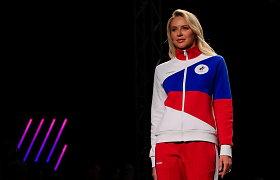 Rusų olimpiečių apranga nustebino: nejaugi tai leistina?