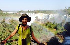 Kristiną ir Vygintą Kaikarius Brazilijoje sužavėjo Igvasu krioklių didybė