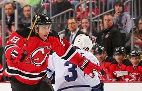 """NHL: Dainiaus Zubraus """"Devils"""" pratęsė pralaimėjimų seriją"""
