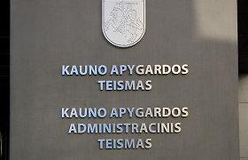 Kauno apygardos teisme – du nauji teisėjai