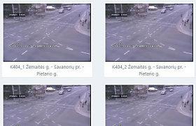 Užkliuvo eismo stebėjimo kamerų vaizdas, pasirodo, kaltas centrinės įrangos gedimas