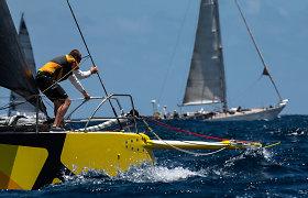 """""""Ambersail 2"""" Antigvos regatoje: trečioji lenktynių diena"""