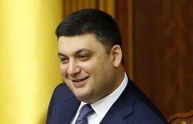 Ukrainos premjeras: šalies ekonominis stabilumas priklausomas nuo išorinės finansinės paramos