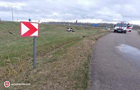 Savaitgalį keliuose traumų patyrė motociklų, keturračių, mopedų, dviračių, paspirtukų vairuotojai
