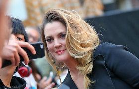 Drew Barrymore gyvenime – naujas vyras: aktorės širdį užkariavo verslininkas Davidas Hutchinsonas