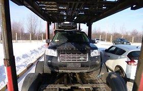 "Italijoje vogtas visureigis ""Land Rover Freelander"" – Lietuvos pareigūnų gniaužtuose"