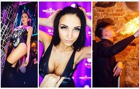Karštas Kovo 11-osios vakarėlis Vilniuje – su seksualiomis merginomis, ugnies šou ir duokle trispalvei