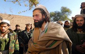 Afganistane per bombos sprogimą žuvo vienas pakistaniečių kovotojų vadas