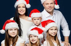 Jurgita ir Kristupas Krivickas įamžino penkto vaiko laukimą
