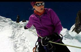 Lietuvė alpinistė Edita Nichols tapo didžiausios Everesto istorijoje nelaimės, kai žuvo 13 žmonių, liudininke