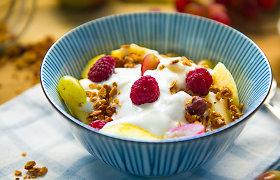 Graikiškas jogurtas: kaip kilo jo bumas ir kokių ypatingų savybių jis turi?